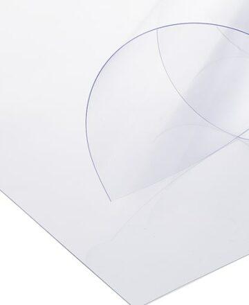 tipos de plástico transparente