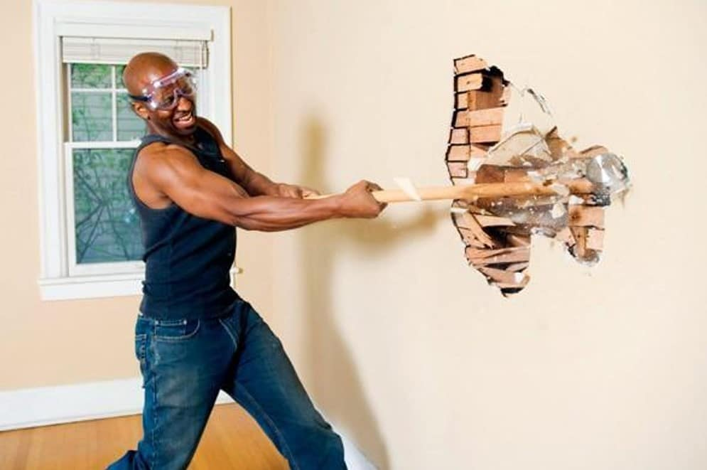 derrubar paredes